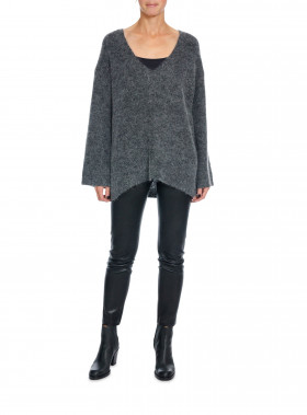 BY MALENE BIRGER GITTANA  DARK GREY MELANGE