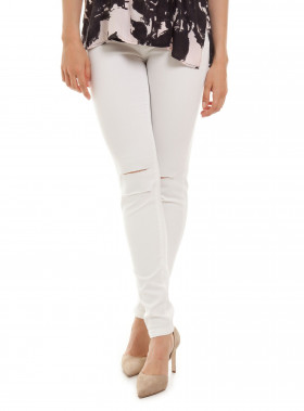 CUSTOMMADE JEANS NICKIE WHITE