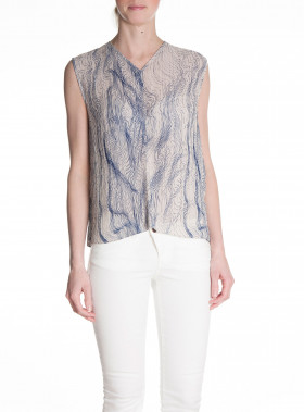 DAGMAR TOP REN MOONBEAM PRINT