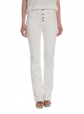 MOS MOSH JEANS WINSLET FLARE WHITE