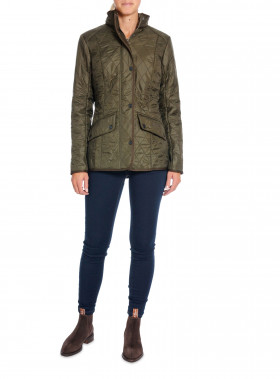 BARBOUR JACKA CAVALRY POLARQUILT DK OLIVE
