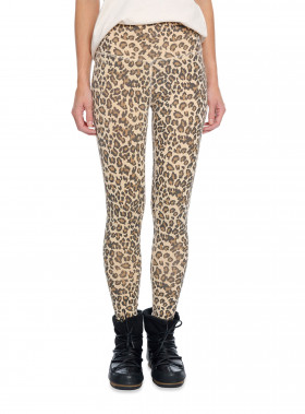 RAGDOLL LA LEGGINGS LEOPARD FADED CAMEL