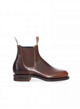 R.M. WILLIAMS BOOTS WENTWORTH YEARLING RUM