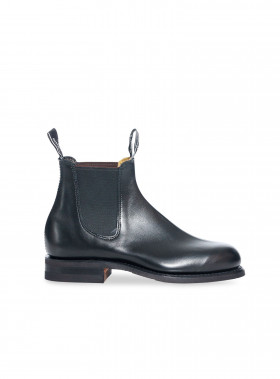 R.M. WILLIAMS BOOTS WENTWORTH YEARLING BLACK