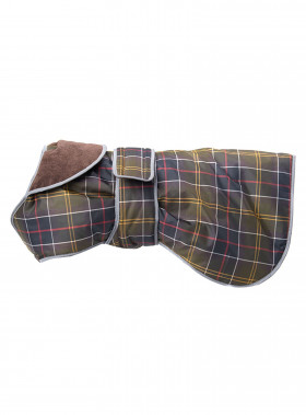 BARBOUR WB TARTAN DOG COAT CLASSIC