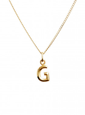 BLUE BILLIE BERLOCK LETTER G GOLD