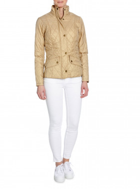 BARBOUR JACKA FLYWEIGHT CAVALRY STONE