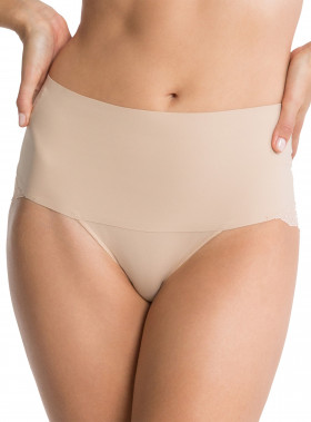 SPANX LACY CHEEKY UNDIE-TECTABLE SOFT NUDE
