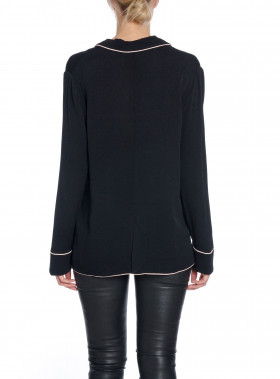 CUSTOMMADE BLUS GABRIELLE ANTHRACITE BLACK