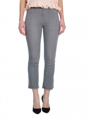 IVY JEANS JOHANNA CROPPED FLARE COOL GREY
