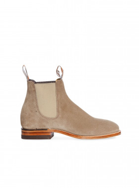 R.M. WILLIAMS BOOTS CRAFTSMAN SUEDE BONEL OATMEAL