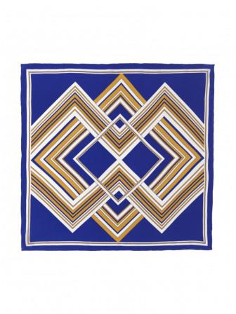 BECKSÖNDERGAARD SJAL CAPON ROYAL BLUE