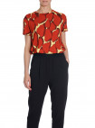 BY MALENE BIRGER TOP UNEKS AUTUMN RED