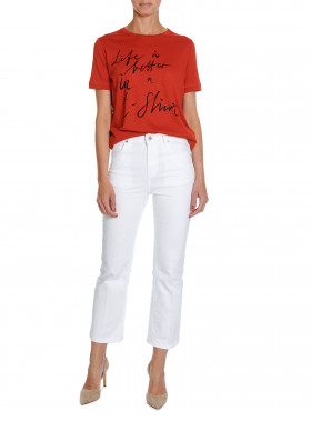 BY MALENE BIRGER TOP LEVERY AUTUMN RED