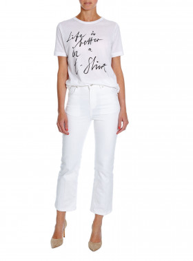 BY MALENE BIRGER TOP LEVERY PURE WHITE