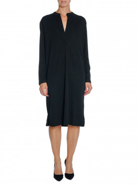 FILIPPA K KLÄNNING SIDE SLIT TUNIC DRESS BLACK
