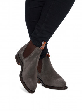 R.M. WILLIAMS BOOTS MAQUAIRE SUEDE GREY