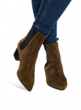 WHYRED BOOTS SABLE SUEDE DUSTY GREY