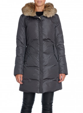 LEMPELIUS JACKA DOWN COAT CARBON GREY