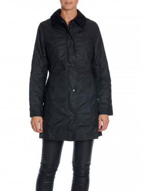 BARBOUR JACKA BELSAY BLACK