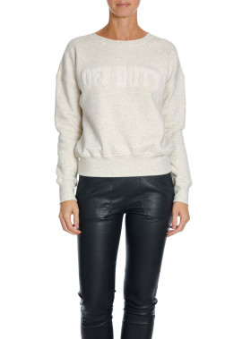 HUNKYDORY SWEATSHIRT MAIN I OFF DUTY ECRU