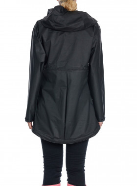 HUNTER REGNJACKA ORIGINAL VINYL SMOCK BLACK