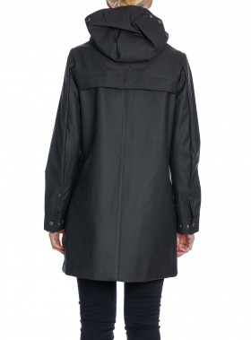 HUNTER REGNJACKA ORIGINAL RUB HUNTING COAT BLACK