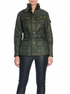 BARBOUR JACKA INTERNATIONAL POLARQUILT SAGE