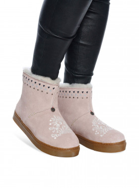 ODD MOLLY BOOTS SUEDEY LOW SHELL