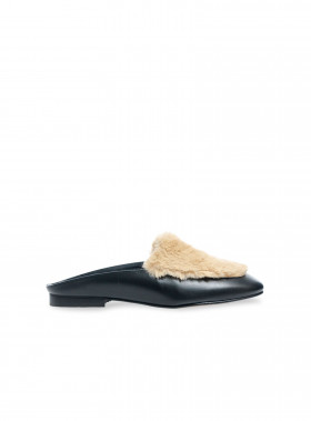 HENRY KOLE LOAFER GIL MULES BLACK