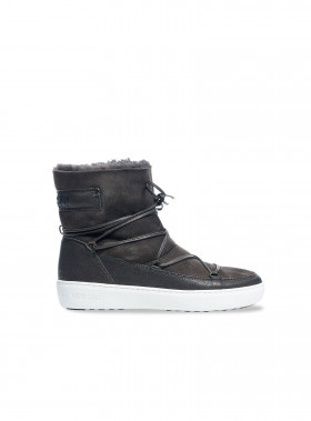 MOON BOOT PULSE LOW SHEARLING GREY