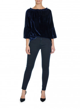 IVY JEANS ALEXA COATED BLUE/BLACK