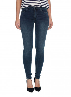WHYRED JEANS EYE BLUE/BLACK SOFT STONE BLUE
