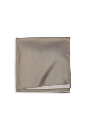 FILIPPA K SJAL SILK NECKERCHIEF KHAKI