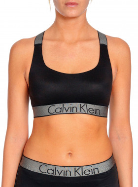 CALVIN KLEIN BRALETTE UNLINED BLACK