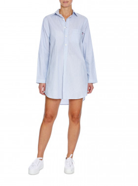LEXINGTON NIGHTSHIRT BLUE/WHITE
