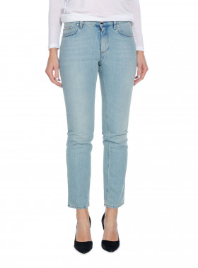 TOTÊME JEANS STRAIGHT DENIM VINTAGE LIGHT BLUE