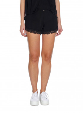 ODD MOLLY SHORTS BED TIME ALMOST BLACK