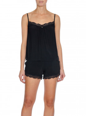 ODD MOLLY TOP BED TIME SLIP ALMOST BLACK