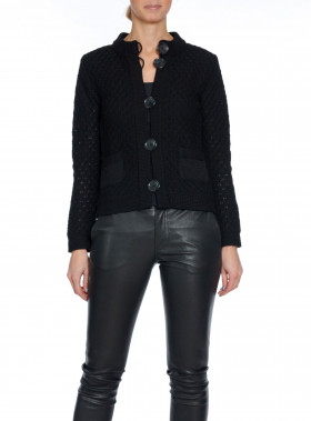 DAGMAR KOFTA FORTUNA COTTON BLACK