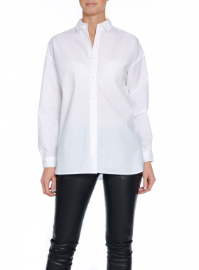LEXINGTON SKJORTA EDITH POPLIN SHIRT BRIGHT WHITE