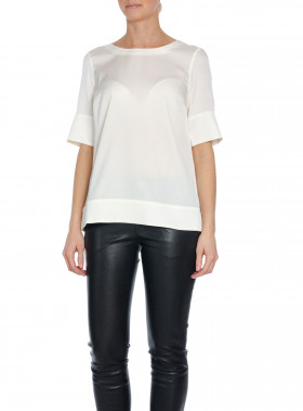AHLVAR GALLERY BLUS MIDDY BLOUSE OFF-WHITE