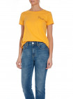 ODD MOLLY TOP GRAPHICTUDE WARM YELLOW