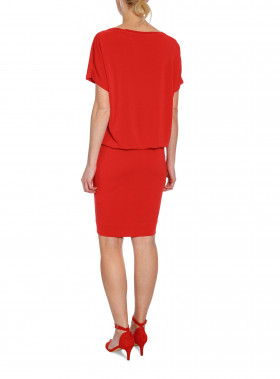 BY MALENE BIRGER KLÄNNING AMANTH BRIGHT RED