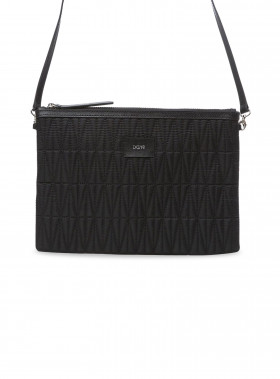 DAGMAR VÄSKA QUILTED STRAP BAG BLACK