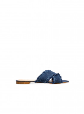 APAIR SANDAL JEANS BLUE DENIM