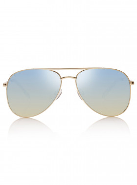LE SPECS SOLGLASÖGON KINGDOM BRIGHT GOLD