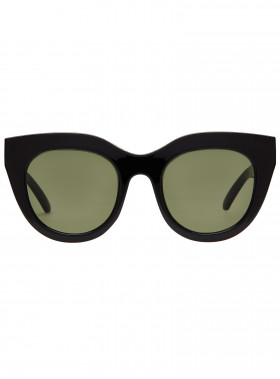 LE SPECS SOLGLASÖGON AIR HEART BLACK/GOLD