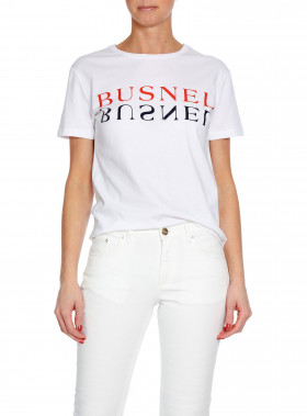 BUSNEL TOP TOURS TEXT WHITE