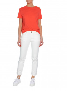 BUSNEL TOP TOULON SOLID LIGHT RED